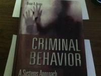 CRIMINAL BEHAVIOR A SYSTEMS APPROACH BY BRUCE ARRIGO