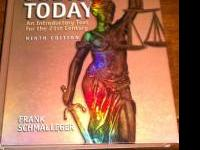 I have a 9th ed.Criminal justice today book by:Frank
