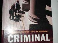 I am selling my CRIMINAL LAW TEXT BOOK 10th edition by