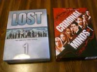 Hi, I have Criminal Minds Season 4 and Lost season 1,