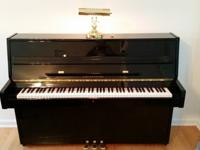 Seven year old studio piano. Bought in April 2009 from