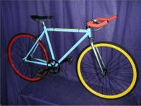 Critical Cycles Fixed Gear Single-Speed Urban Road Bike