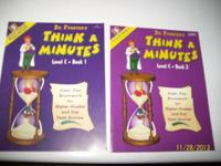 DR. FUNSTER'S THINK-A-MINUTES ( LEVEL C-BOOK 1): NEW: