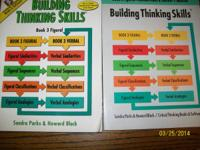 BUILDING THINKING SKILLS BOOK 3: ALL BOOKS NEW, NEVER