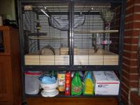 critter nation cage. shelf has been taken out and ramps