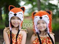 Animal hats - Alien Monster Hats - Crochet Patterns -