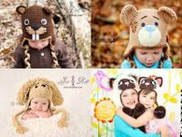 Over 1500 images of our handmade creations Animal hats