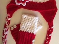 Crocheted hats in a multitude of styles and colors for