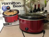 Brand new Hamilton Crock pot, 5 Quarts. Just utilized
