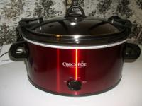 Crock-Pot 6-Quart Cook & Carry Manual Slow Cooker Model