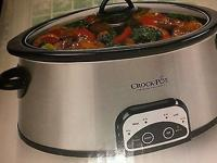 Crock Pot Programmable 4-Quart Digital Slow Cooker,