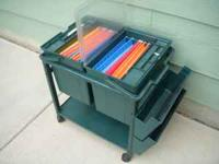 Cropper Hopper for sale. This is a mobile organizer for