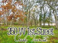 OUTSTANDING BUY ~ Crosby Townsite ** 0.44 ACRES **