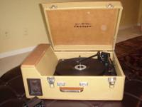 Crosley CR89 Traveler Stack-o-Matic Turntable,