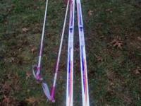 Womens cross country skiis for sale. Nearly new. No