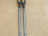 Adidas 195 cross country skis with Alpina boots size 39