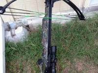 Wildcat Extreme 350'lb. camo finish. 4xscope. 3 bolts.