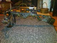 Parker Buck Buster 150lb. crossbow with scope, $375