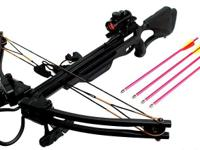 Brand new crossbows , spend $100.00 and get a free