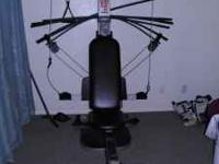Up for sale is my Weider Crossbow Home Gym. i dont use