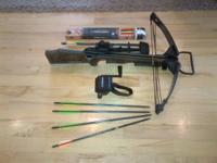 Horton Crossbow for sale, comes with the following,