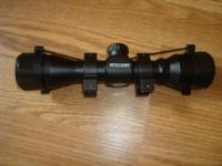 Stryker 3x32 crossbow scope with rings never used call