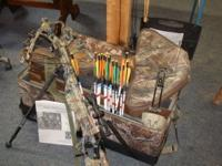 TenPoint Phantom CLS crossbow package, originally