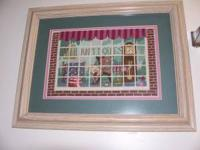 I'm selling a crosstitch picture that took me a year to
