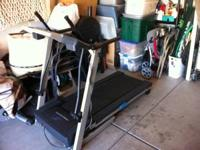 Selling Cross Walk 415 Pro-Form Treadmill to make space