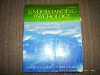 Understanding Psychology--used one semester, front