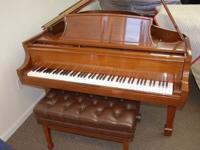 Steinway Crown Jewel Grand Piano, model L, made in