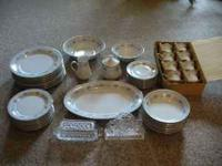 For sale is a 46 piece set of Crown Ming fine china. It