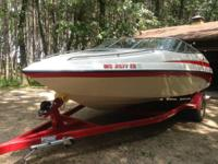 1997 Crownline that has always been saved indoors and