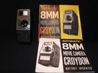 I have this old Croydon 8mm movie camera that I don't