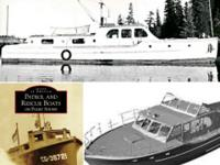Cruiser, Yacht, Monk, WW2, Cedar, live-aboard, project,