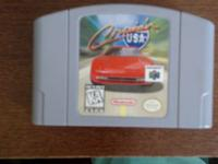 Crosing USA Nintendo 64 game $12 obo tested and works