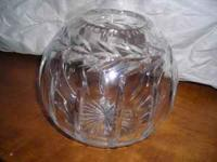 This crystal bowl was purchased several years ago at