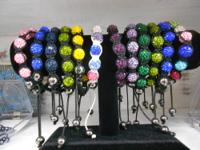 Great quaility Shamballa Bracelets available in many