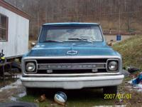 1970 c10 pickup stepside three speed 235 6 cylender