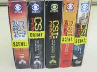 Selling this set of CSI Miami DVD boxsets. All cases
