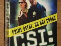 CSI Orig. Seasons 3-4-5-7 $12 each or all 4 for $40 NEW