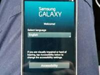 cspire galaxy s4 bout 6 months old. has ottor box, no