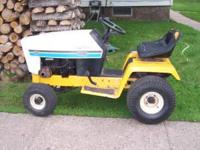 For Sale: Cub Cadet 1110 Hydro lawn tractor. Needs some