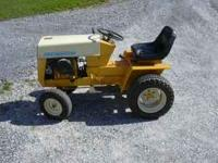 Cub Cadet 122 12 horse power motor starts and runs.