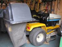 "Cub Cadet 38"" Hydro 1220 with Bagger MFG - 62560"