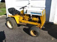 Cub Cadet 123 12 HP Runs Good First Hydro Made by Cub