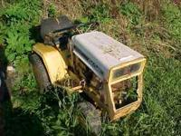 127 cub cadet, parts only, engine turns freely. call