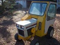 for sale is this 129 cub cadet with the cozy cab has