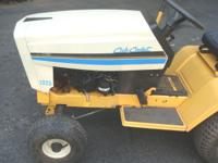 PARTING A 1325 CUB CADET LAWN TRACTOR. ENGINE AND