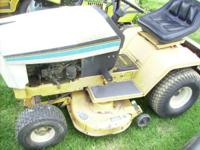 "FOR SALE 1330 CUB 38 "" CUT ,HYDRO TRANS RUNS AND"